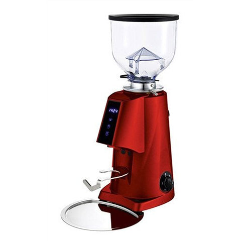 Fiorenzato F4 Electronic Espresso Grinder - Red - Grinders - Beans 2 Machines