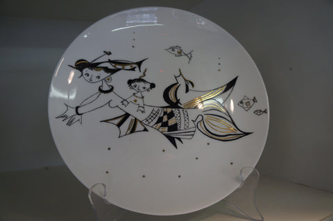 China Plate for collectors by Australian Designer/China painter Michelle Yates