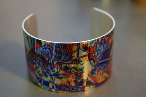 Aluminium Cuff designed By Barracuda Studio Gallery made in Australia / Warren Iannello