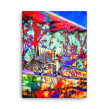 "Canvas print edit of ""If I was a graffiti artist 1.2"""