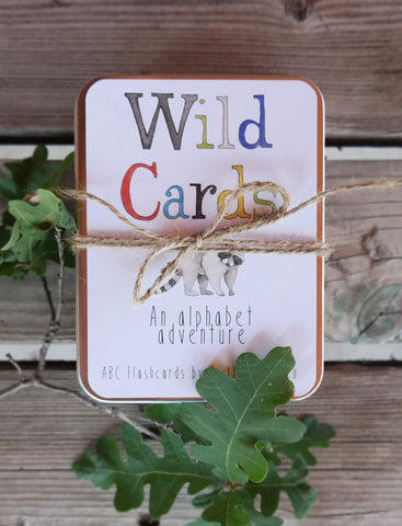 Wild Cards- Alphabet ABC Flashcards