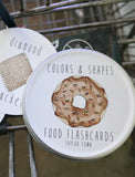 Colors and Shapes- Food Flashcards