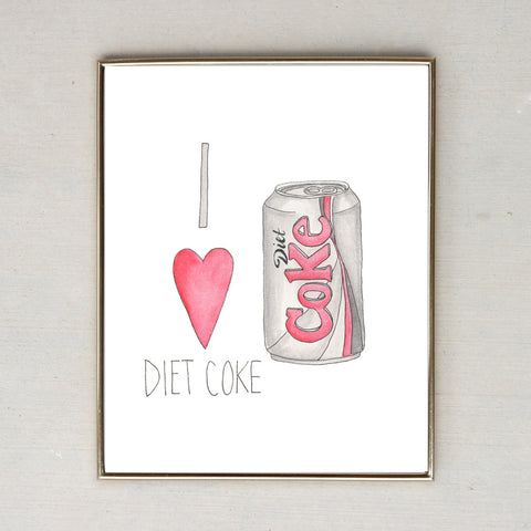 I Love Diet Coke