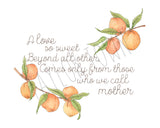 A Mother's Love- Mother's Day Print
