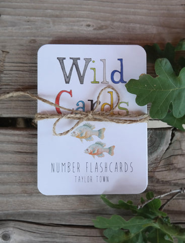 Wild Cards- Numbers Flashcards