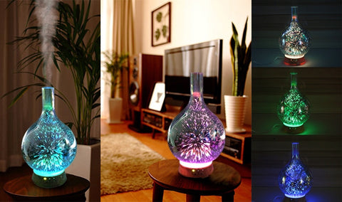 Color Changing 3D Essential Oil Diffuser