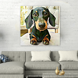 A Custom Pet Canvas