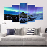 Aurora Charm 5 Piece Canvas
