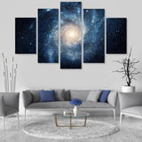 Galaxy Grandeur 5 Piece Canvas