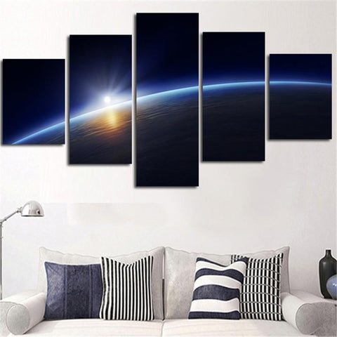 Horizon 5 Piece Canvas