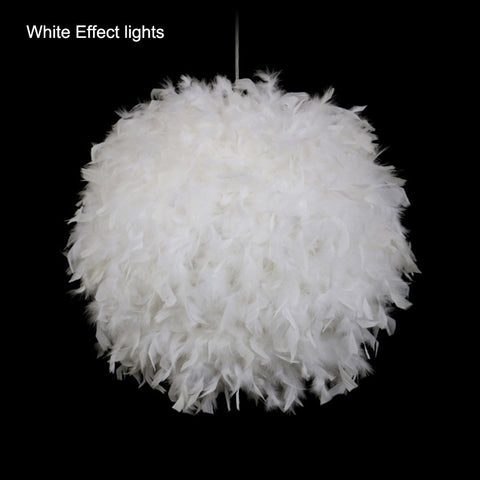 Feather Ball Light