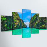 Path to Paradise 5 Piece Canvas