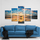 Surfers Paradise 5 Piece Canvas