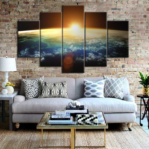 Sunrise Over The Universe Canvas