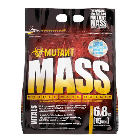 Mutant mass Cookies & Cream (6,8 kg)