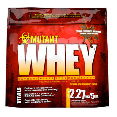 Mutant Whey xtreme strawberry (2,2kg)