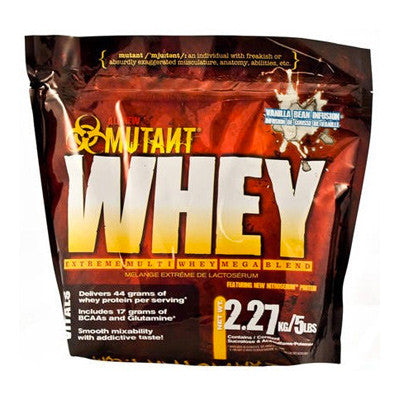 Mutant Whey xtreme strawberry (908g)