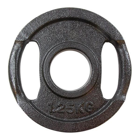Viktskiva svart metall - 1,25 kg -  (50mm) Nordic Strength