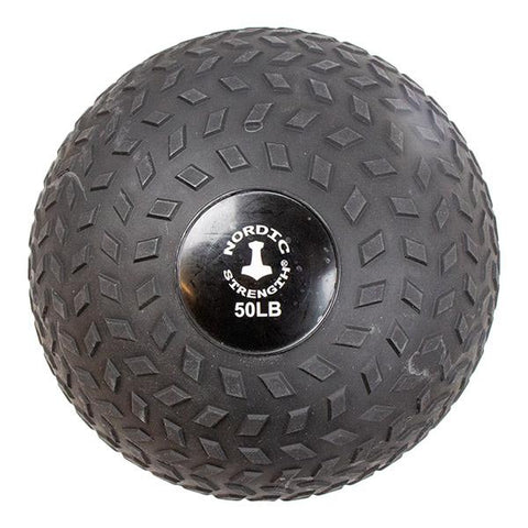 Slamball 50 lbs - Nordic Strength Black