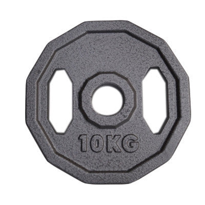 Viktskiva 10 kg - 50 mm grå - nordic strength