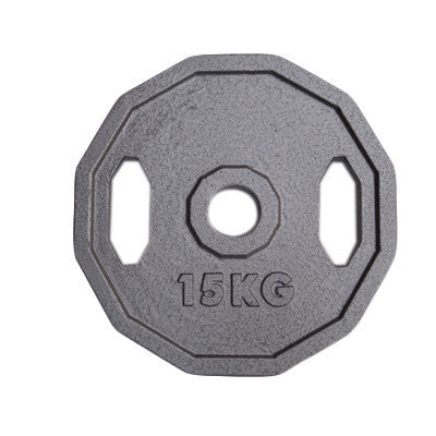 Viktskiva 15 kg - 50 mm grå - nordic strength