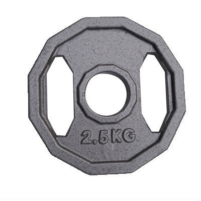 Viktskiva 2,5 kg - 50 mm grå - nordic strength