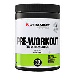 Nutramino +Pro Pre-Workout Powder Sour Apple