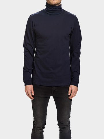 Revolution / Long Sleeve Turtleneck Tee | Navy