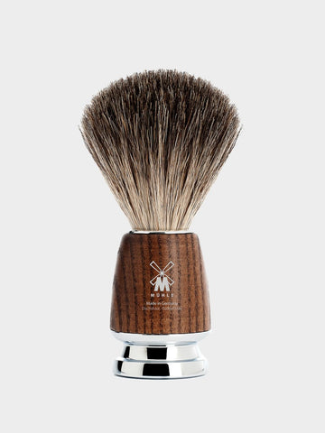 MÜHLE / Rytmo Pure Badger Shaving Brush | Ash - stvalentin.dk - 1