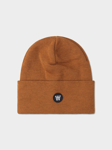 Wood Wood / Gerald Double A Tall Beanie | Camel