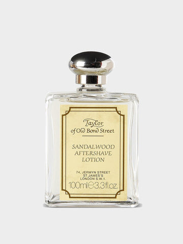 TAYLOR OF OLD BOND STREET / Luxury Sandalwood Aftershave Lotion | 100ml - stvalentin.dk - 1