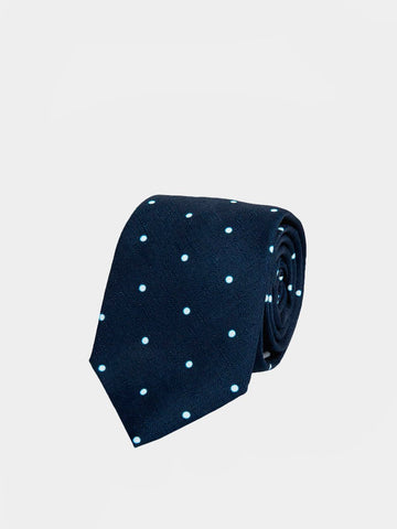 An Ivy / The Navy Polka Dots