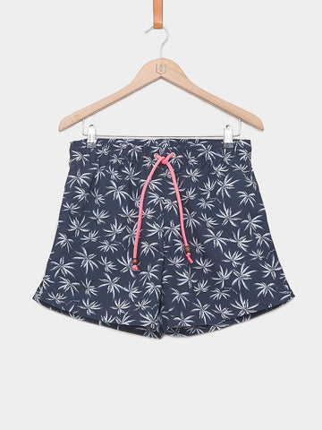 Balzac Projects / Allover Palms Shorts | Navy