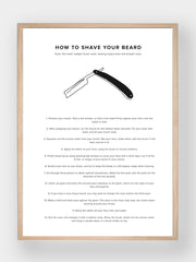 WHAT A MAN SHOULD KNOW / How To Shave Your Beard - stvalentin.dk - 1