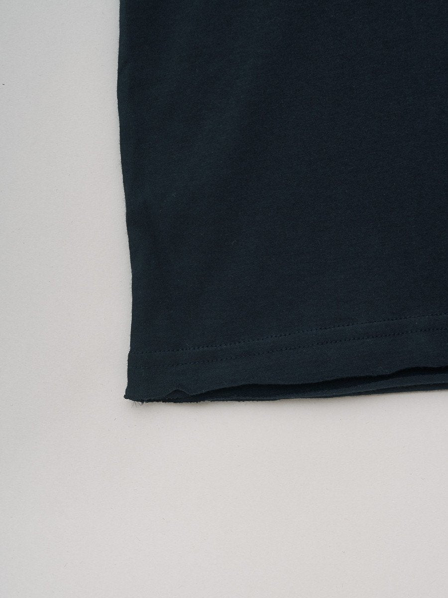 BREAD & BOXERS / Crew-Neck Relaxed T-shirt | Dark Navy
