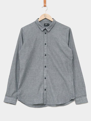 Dr. Denim / Damian Shirt | Dark Grey Mix