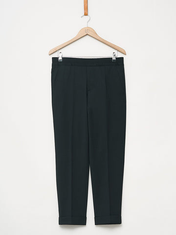 Filippa K / Terry Gabardine Cropped Pants | Black