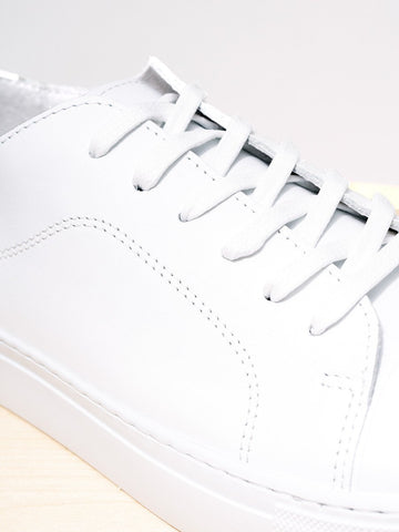 GARMENT PROJECT / Classic Lace Leather | White