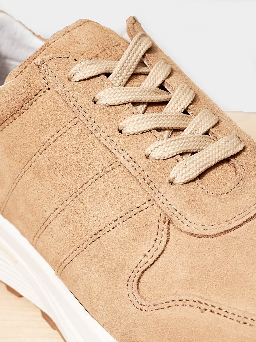 GARMENT PROJECT / Runner Suede | Tan