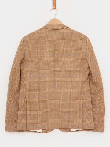 Gant Rugger / The Dogtooth Wool Blazer I Dark Sand