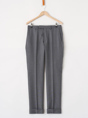 GANT RUGGER / The Hopsack Smarty Pants | Dark Grey Melange - stvalentin.dk - 1