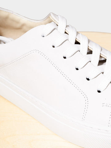 Garment Project / New Classic Lace Leather | White