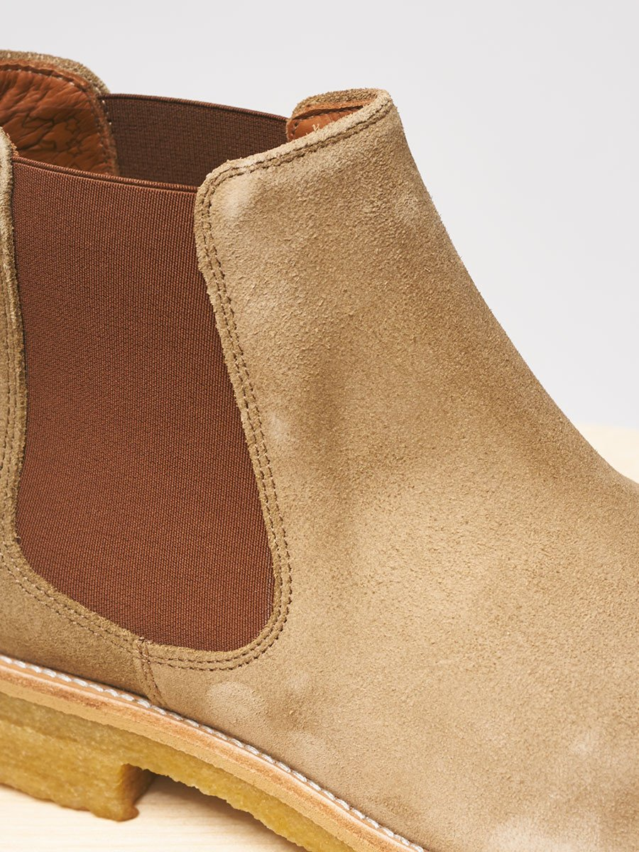 Garment Project / Chelsea Boot | Tobacco Suede - stvalentin.dk - 2