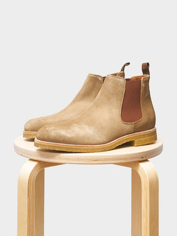 Garment Project / Chelsea Boot | Tobacco Suede