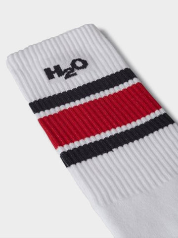 H2O / Club Sock | Navy Red