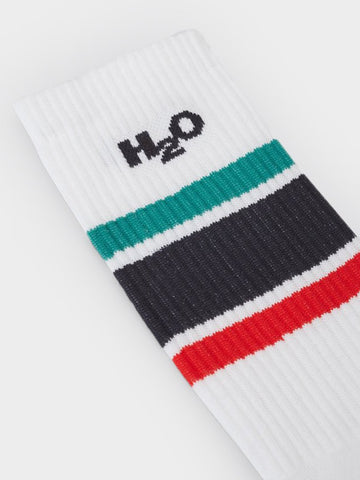 H2O / Club Sock | Red Navy Green