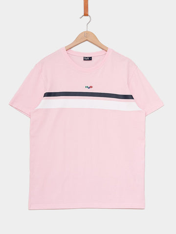 H2O / Maine Tee | Rose Water Navy White