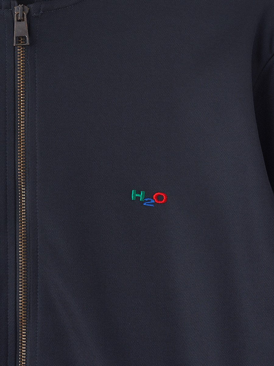 H2O / Bobby Track Top | Navy Red Green - stvalentin.dk - 5