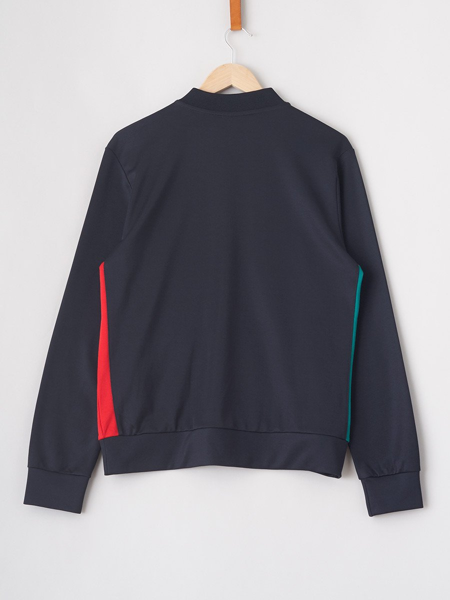 H2O / Bobby Track Top | Navy Red Green - stvalentinshop.dk - 3