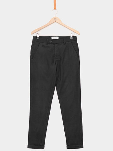Les Deux / London Wool Pants | Black